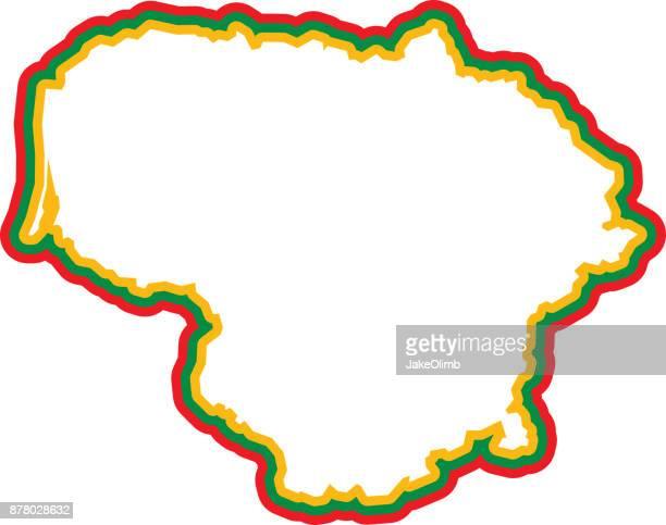 Lithuania Outline