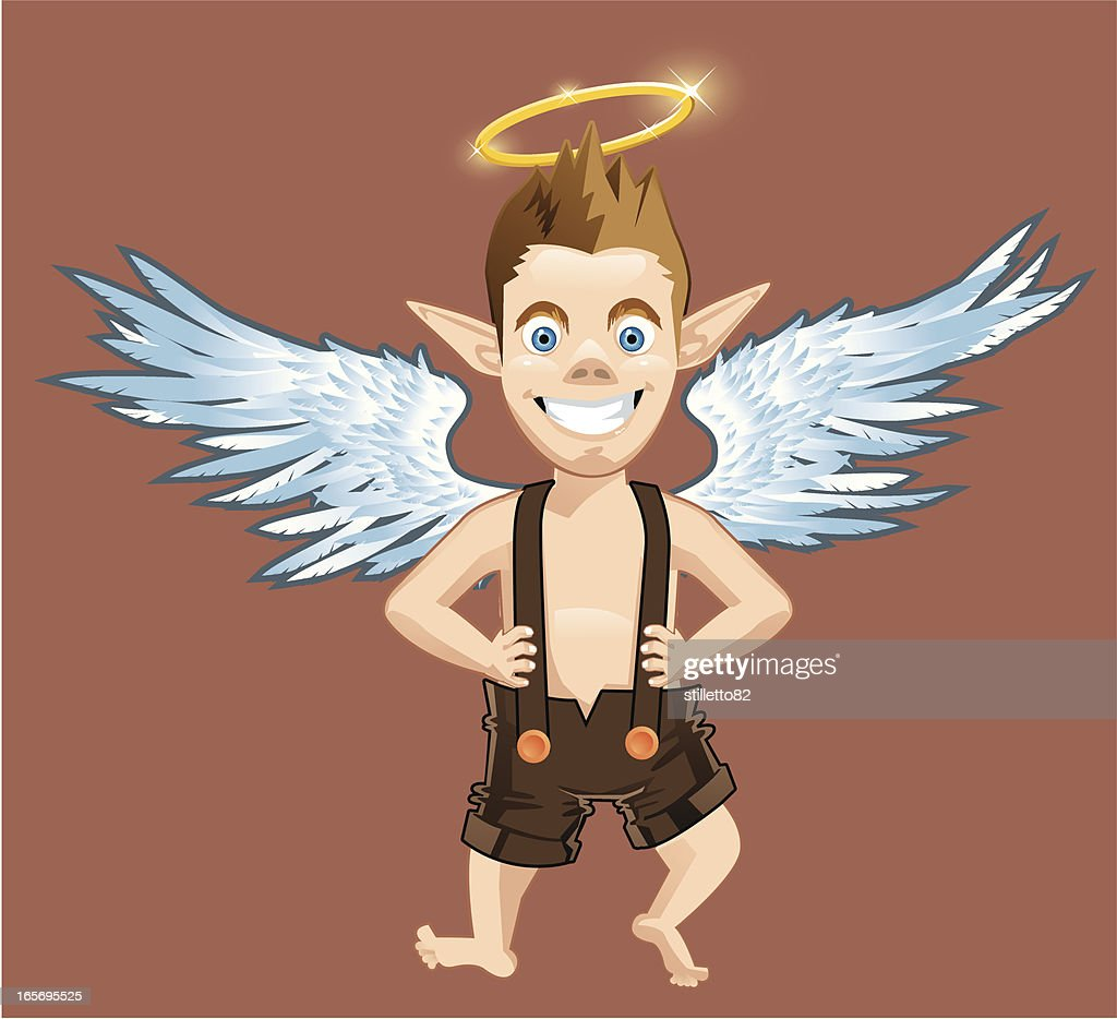 Little Angel : stock illustration