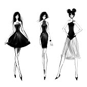 little black dres
