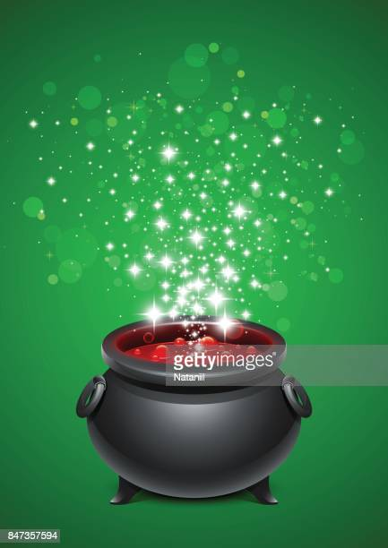 Little black fairy pot