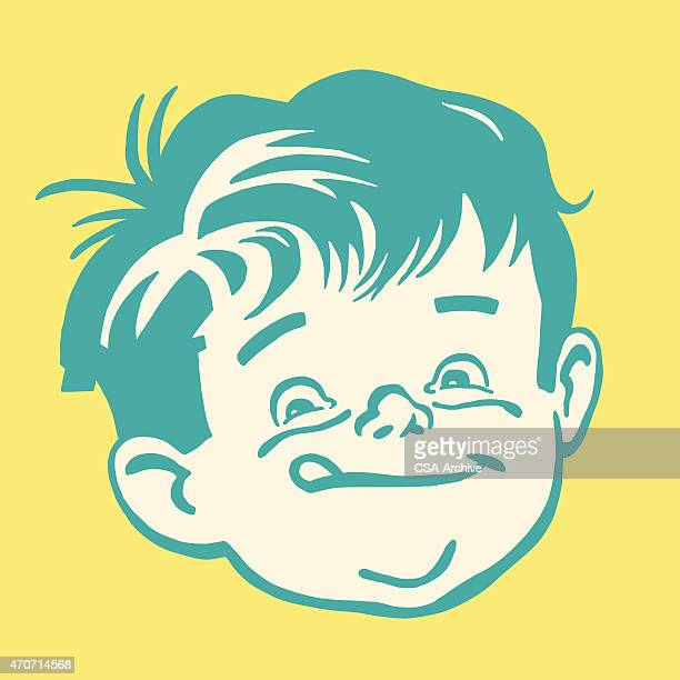 little boy licking his lips - licking stock illustrations, clip art, cartoons, & icons