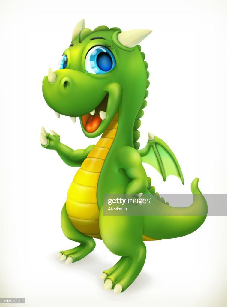 Little Dragon cartoon character.