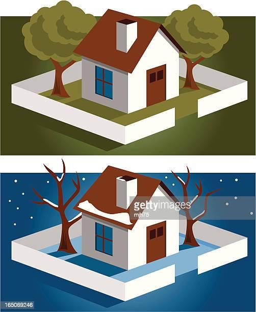 Little House - Summer/Winter