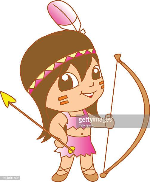 little native smiling - indian costume stock illustrations, clip art, cartoons, & icons