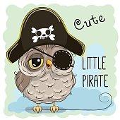Little Owl Pirate