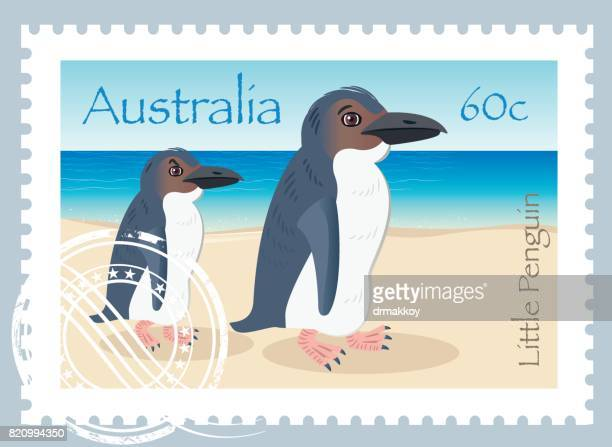 Little Penguin Stamps