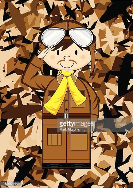 Little Pilot & Camouflage