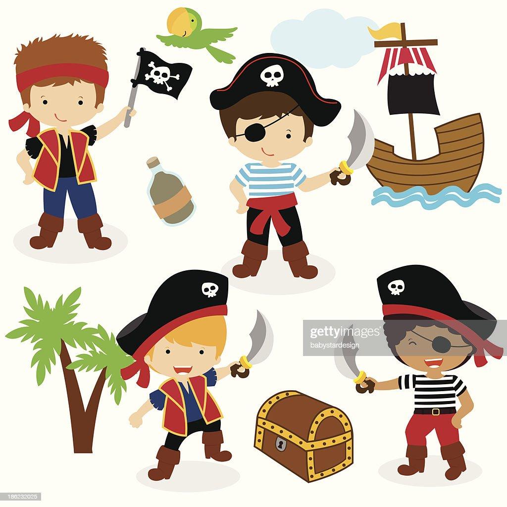 Little Pirate Boys