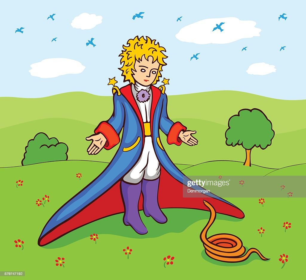 Little Prince and the snake