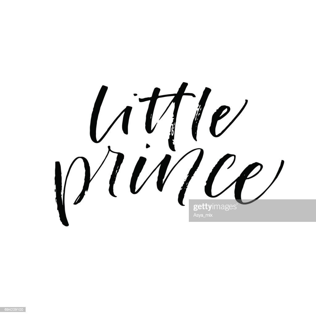 Little prince card.