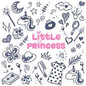 Little princess attributes set