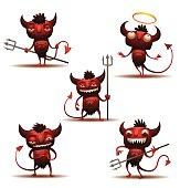 Little Red Devils set