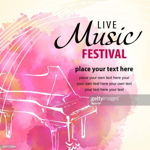 Live-Musik mit Klavier