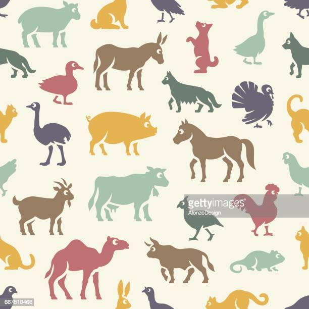 livestock pattern - quail bird stock illustrations, clip art, cartoons, & icons
