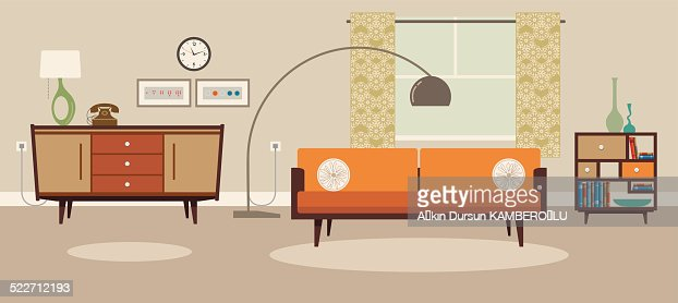 Living Room Vector Art | Getty Images