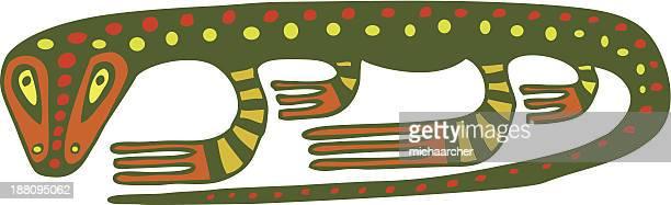 ilustraciones, imágenes clip art, dibujos animados e iconos de stock de lagarto a - iguana