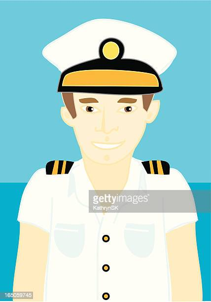 i'll be your captain - boat captain stock illustrations, clip art, cartoons, & icons