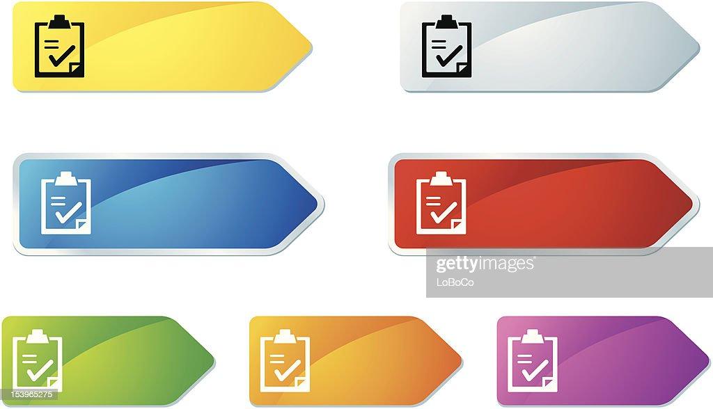 'L-label' Icon Series | Checklist