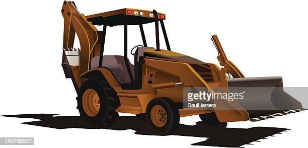 Loader Excavator Bulldozer