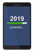 loading 2019 silvester handy isolated