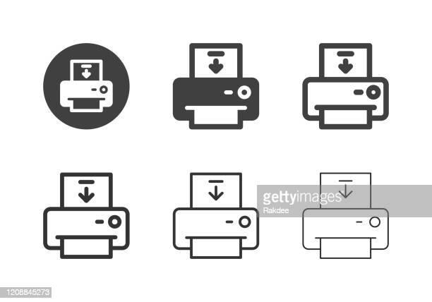用紙アイコンのロード - マルチシリーズ - 荷積み場点のイラスト素材/クリップアート素材/マンガ素材/アイコン素材