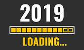 2019 loading with progress bar