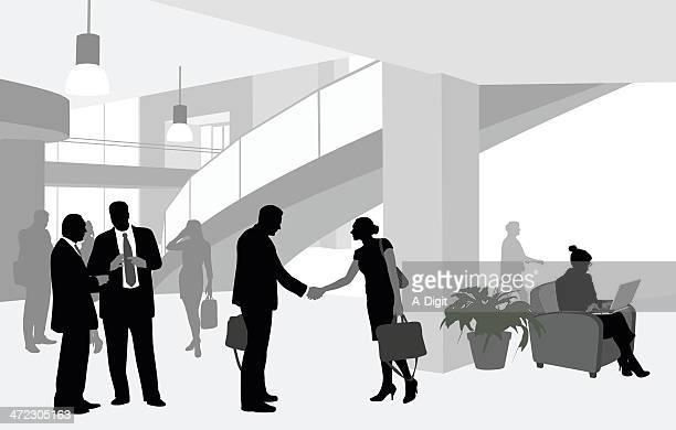 Lobby Handshake