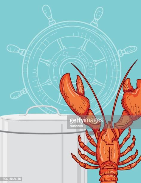 Lobster Boil Invitation Template