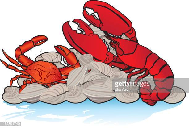 Lobster, Crab and Clams