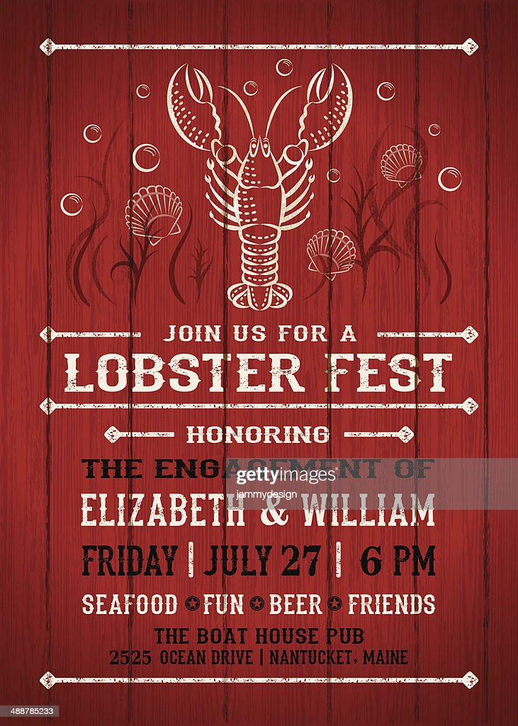Lobster Fest Invitation