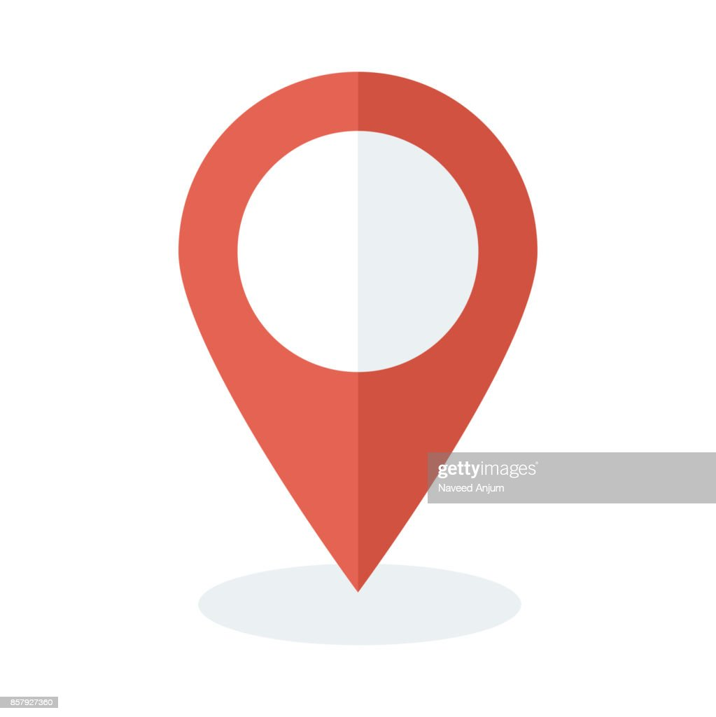 location Flat Vector Icon