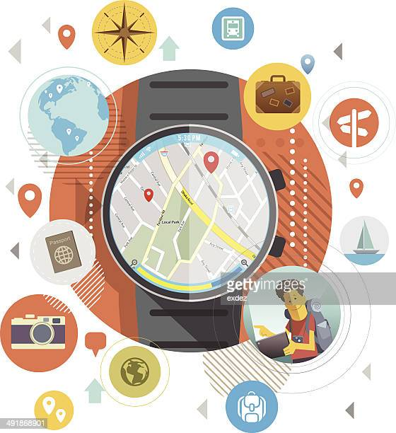 Location on Smart Watch