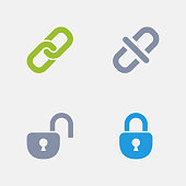 Lock & Unlock - Granite Icons
