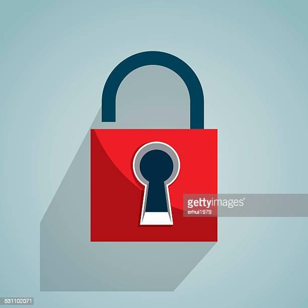 lock - hidden stock illustrations, clip art, cartoons, & icons