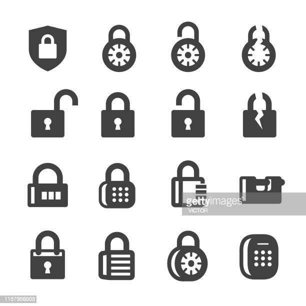 ロックアイコン - acmeシリーズ - ロッカー点のイラスト素材/クリップアート素材/マンガ素材/アイコン素材