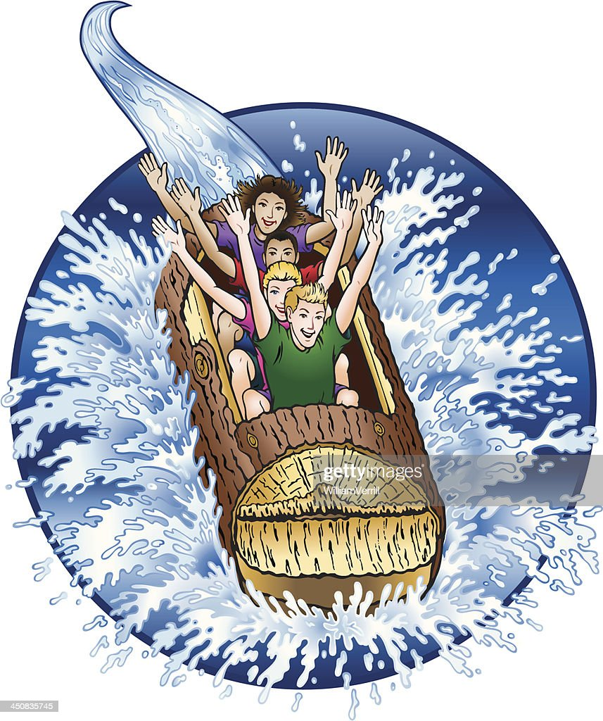 Log Flume Water Ride