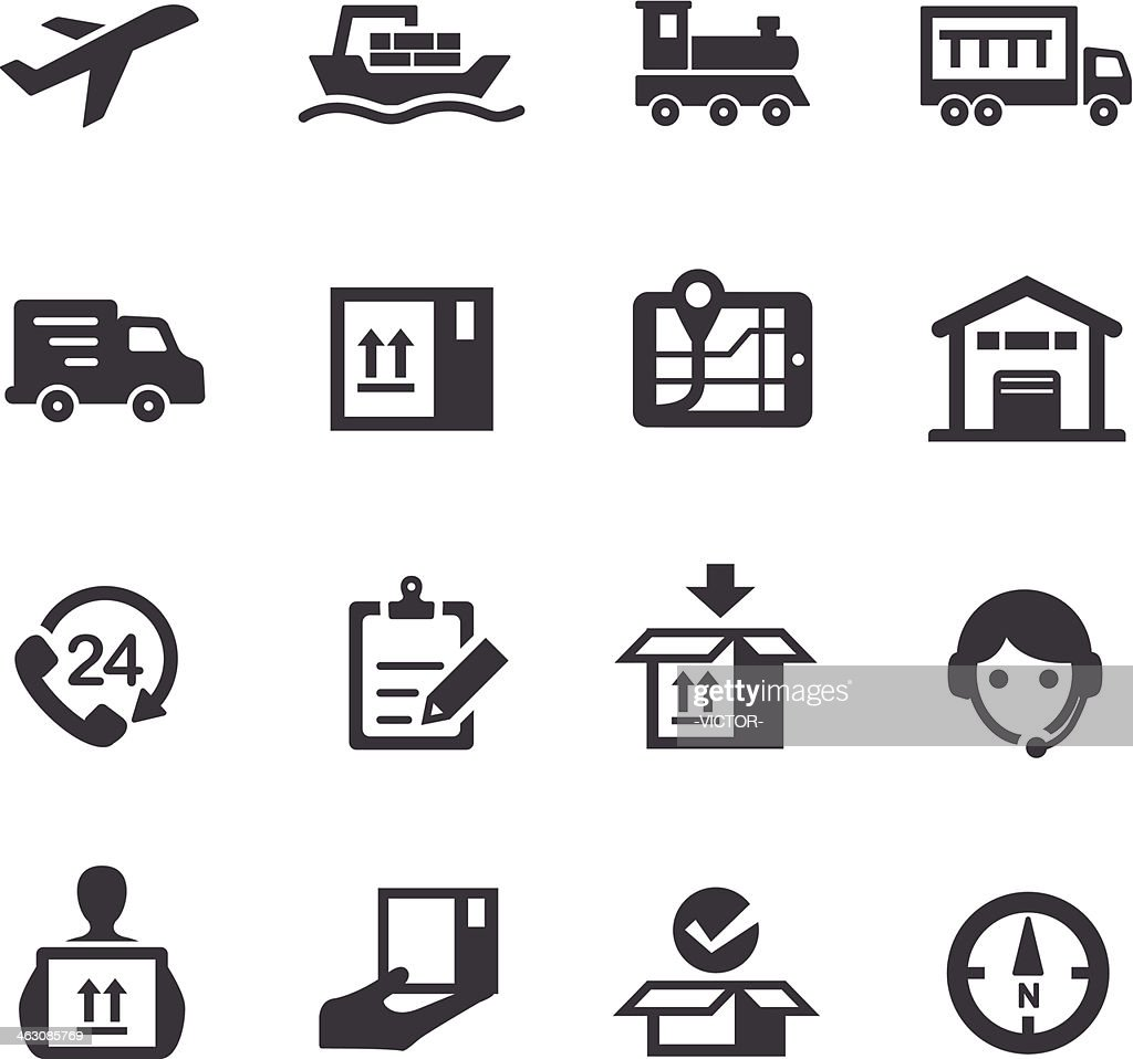 Logistics and Shipping Icons - Acme Series
