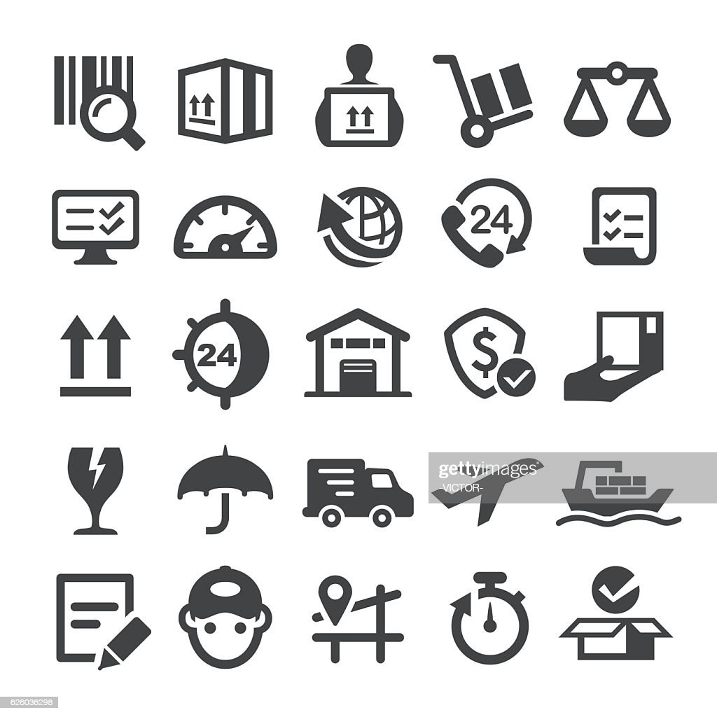 Logistics Icons - Smart Series