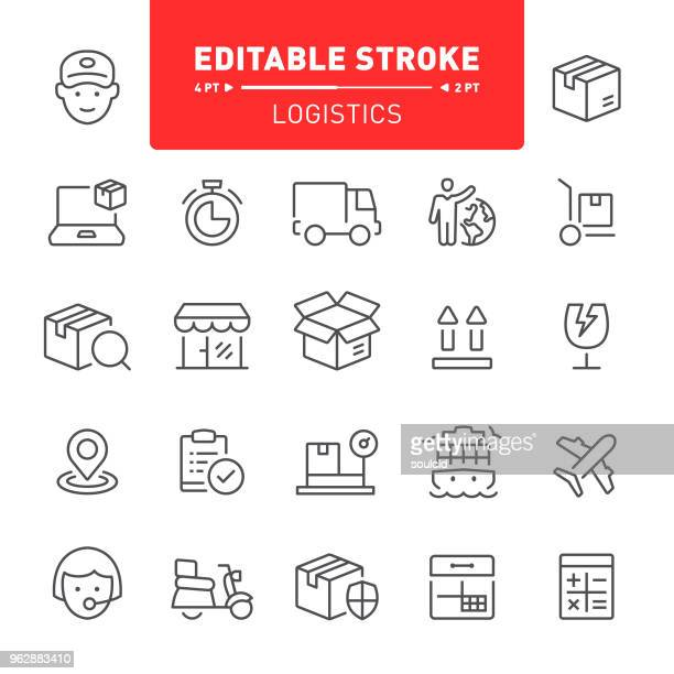 logistics icons - moped stock illustrations, clip art, cartoons, & icons