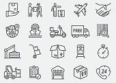 Logistics Line Icons