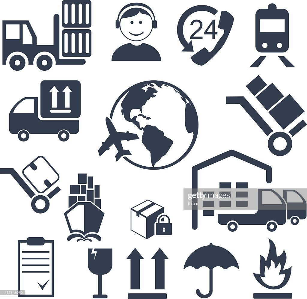 Logistics Related Icons