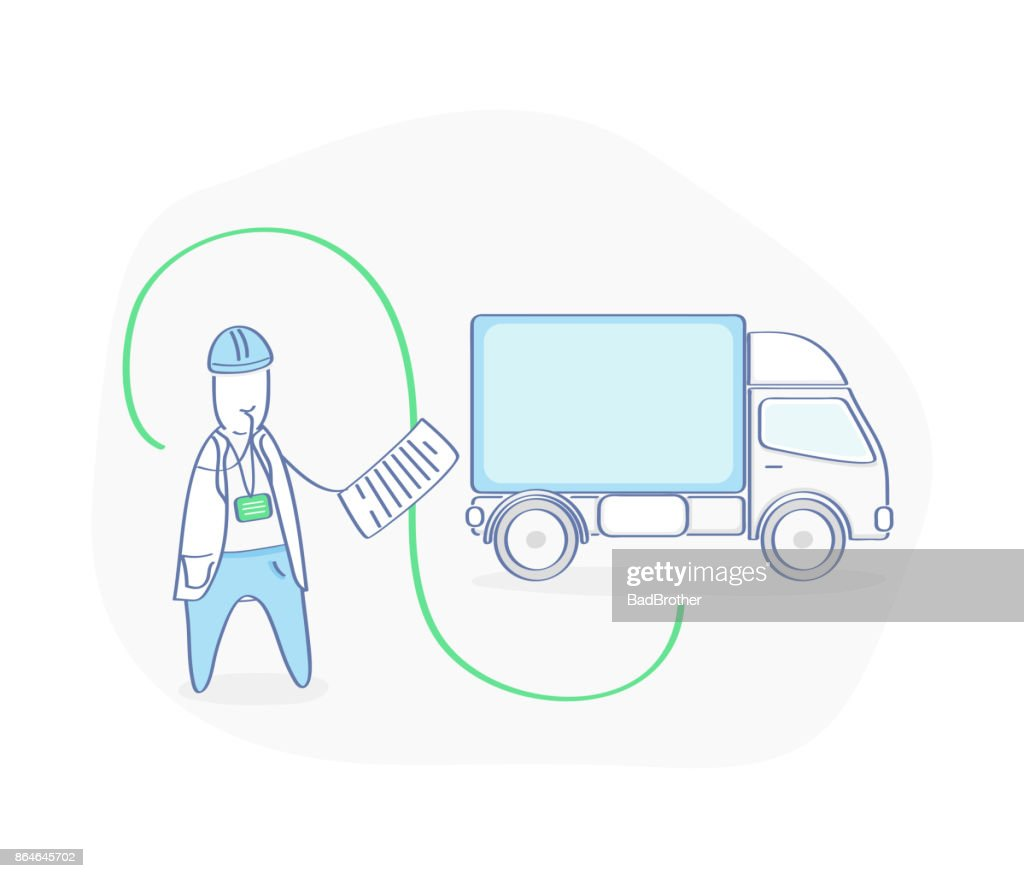 Logistics, Transportation Management, Moving and Cargo Delivery System