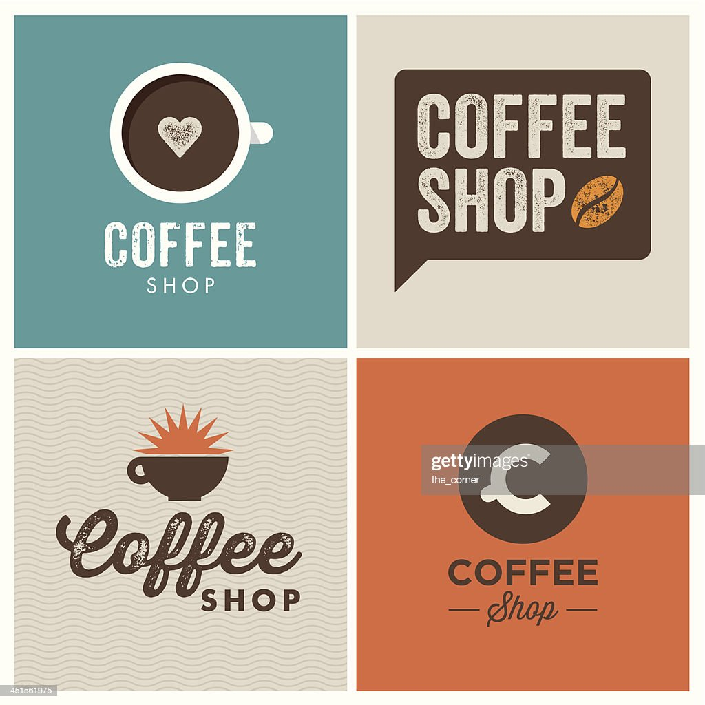logo coffee shop
