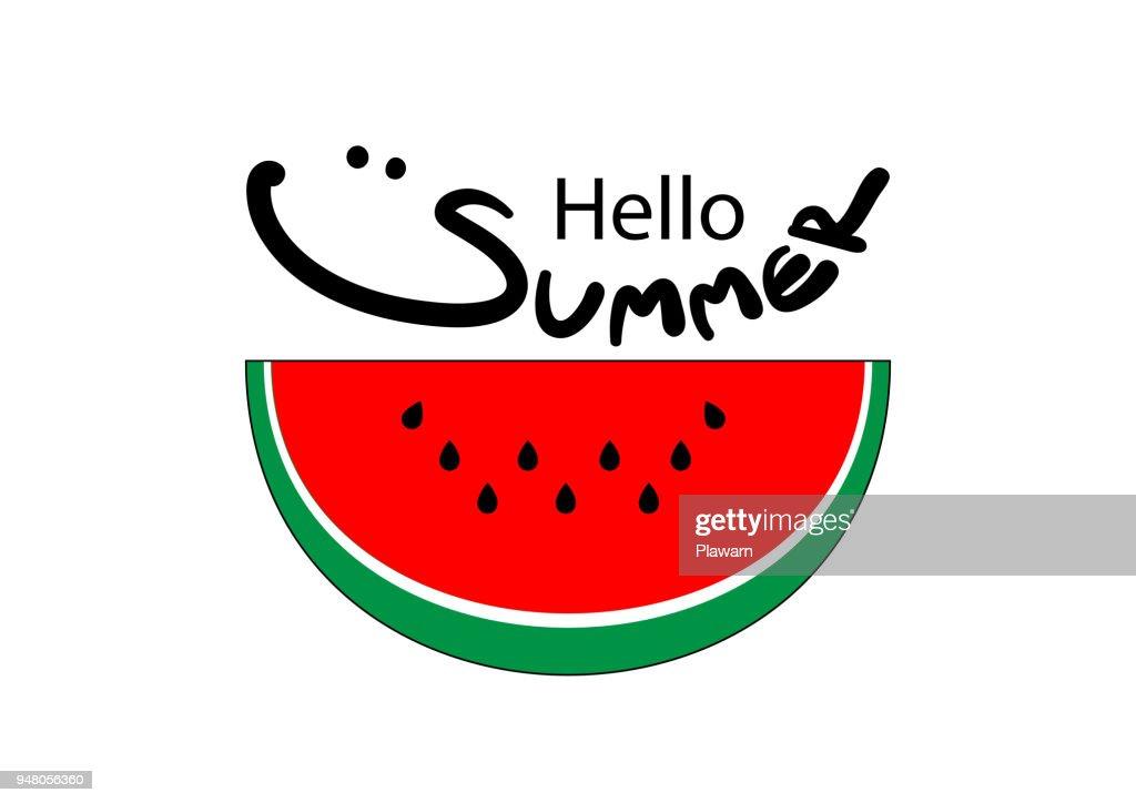 Logo design for Summer seasons.