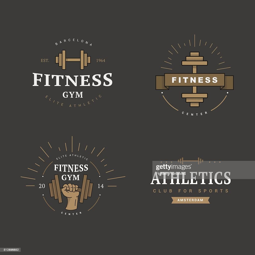 logo in vintage style