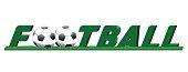 logo inscription team play football