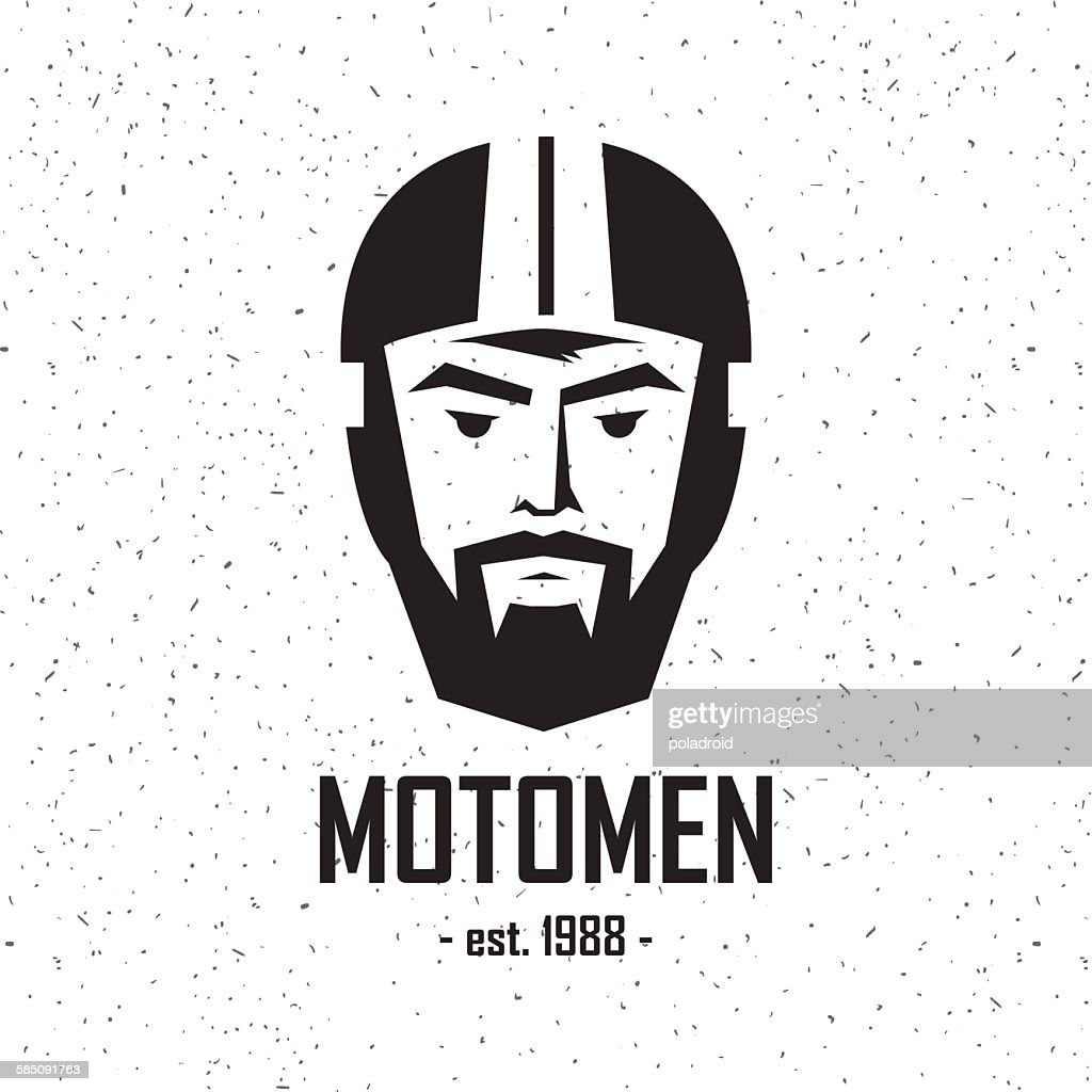 logo man in helmet