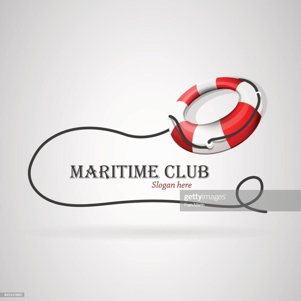 Logo maritime club