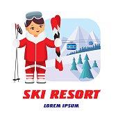 logo of ski resort
