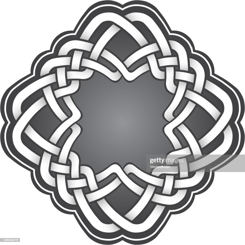 Logo Template In Celtic Knots Style Vector Art Getty Images
